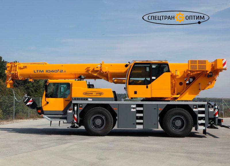 Liebherr LTM 1040-2.1 автокран 40 тонн