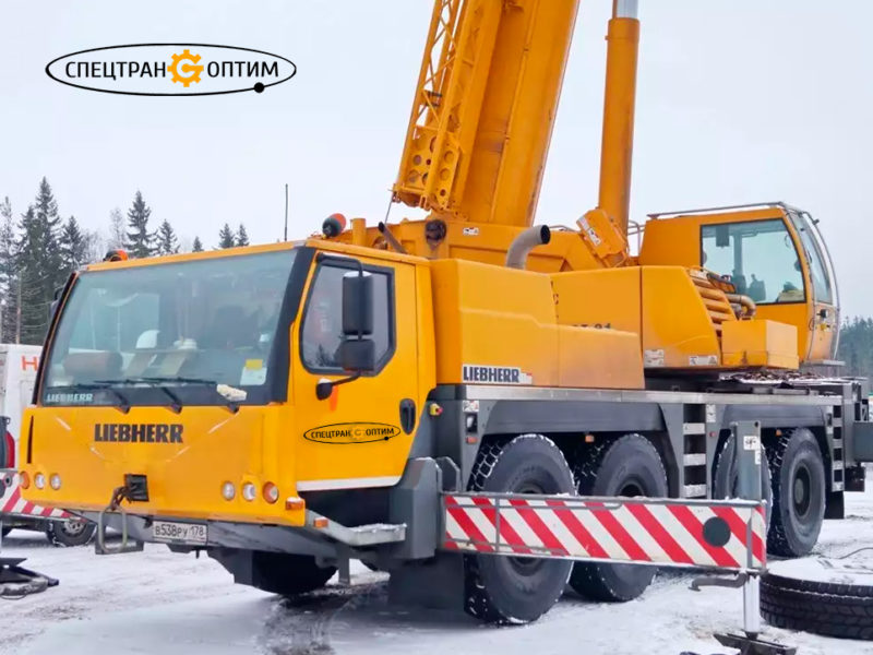 Liebherr LTM 1100-1 автокран 100 тонн