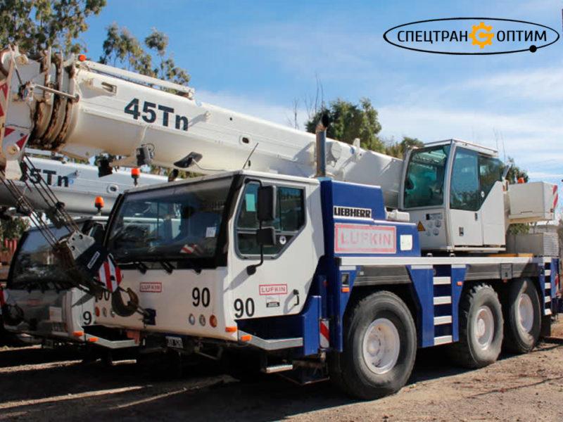 Liebherr LTM 1045-3.1 автокран 45 тонн
