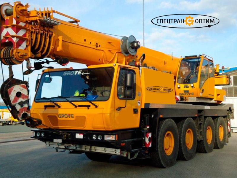 Grove GMK 4080 автокран 80 тонн