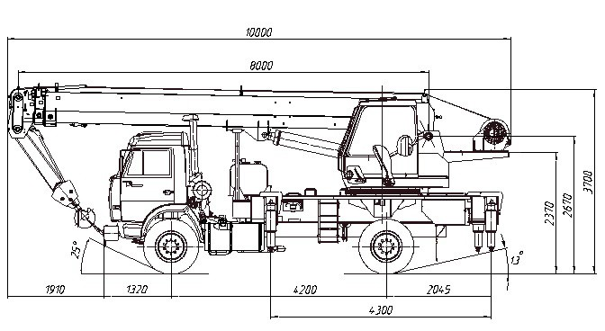 Аренда КС 35719-1-02 КАМАЗ-43253