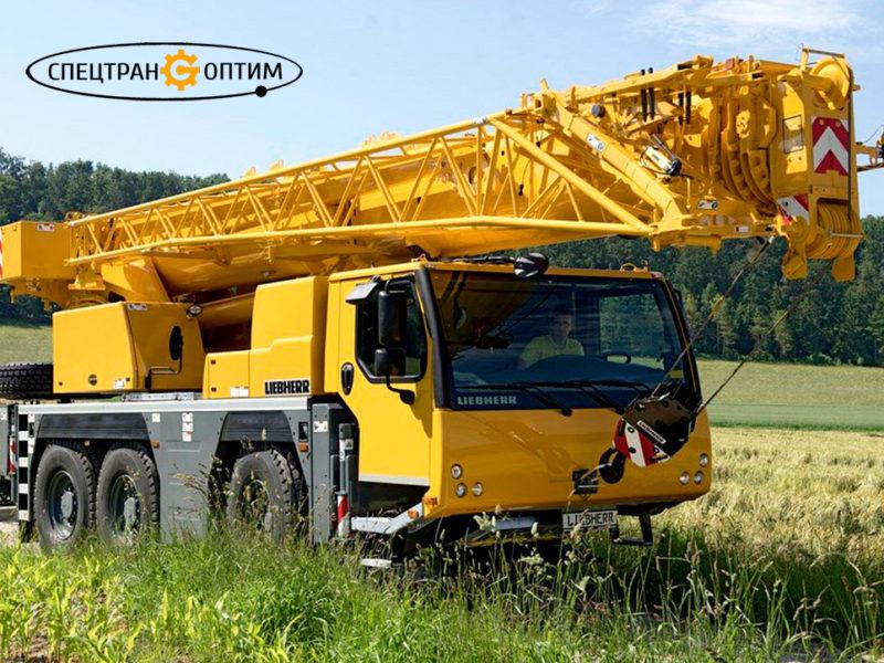 Liebherr LTM 1050-3.1 автокран 50 тонн