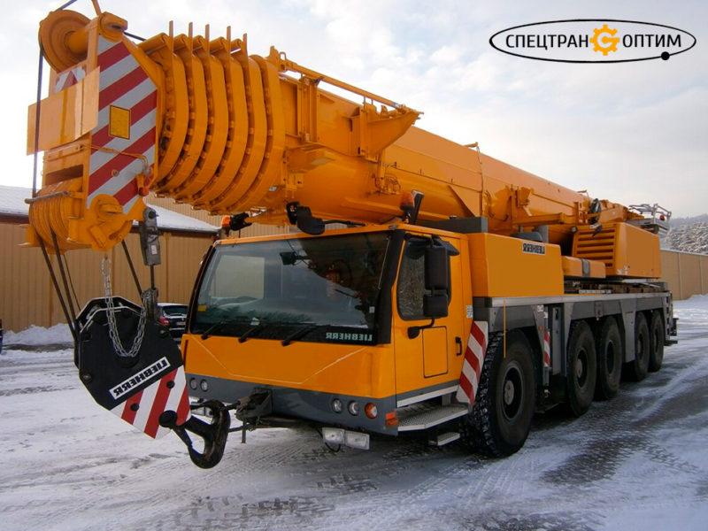 Автокран LTM 1200-5.1 Liebherr аренда