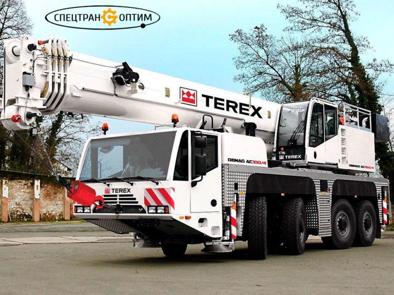 Аренда аренда Terex-Demag AC120 автокран 120 тонн