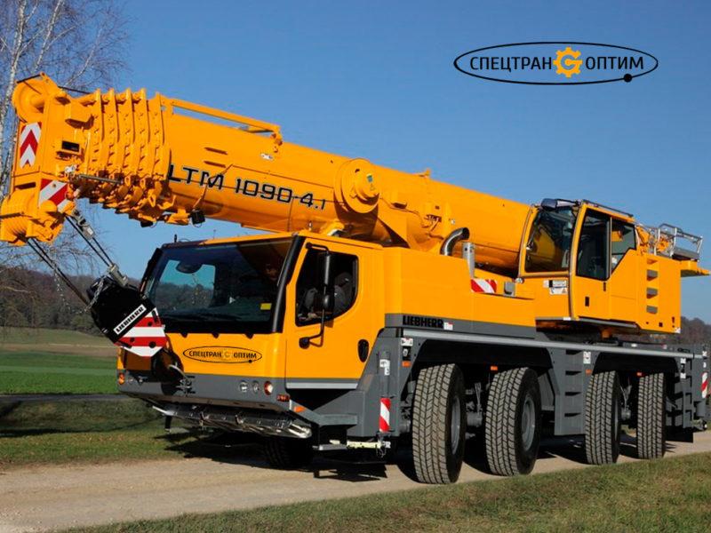 Liebherr LTM 1090 автокран 90 тонн