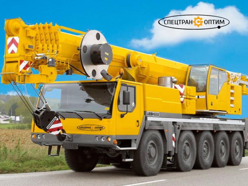 LIEBHERR LTM 1095 автокран 95 тонн