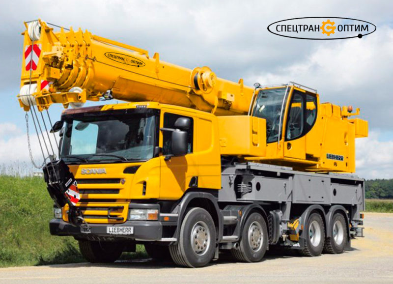 Scania Liebherr LTF 1060 автокран 60 тонн