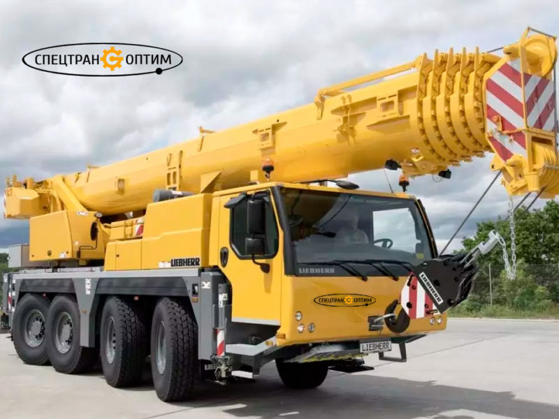 Liebherr LTM 1070-4 автокран 70 тонн