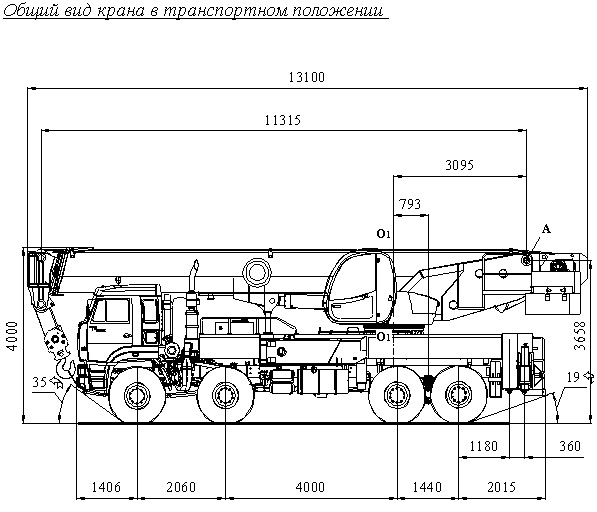 Автокран КС-65731-1